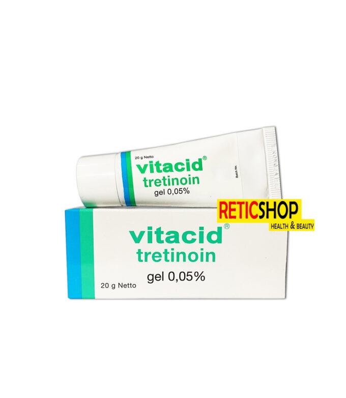 Vitacid 0.05 Tretinoin Gel